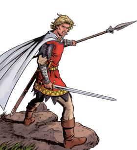 De innerlijke criticus, een onhandige ridder